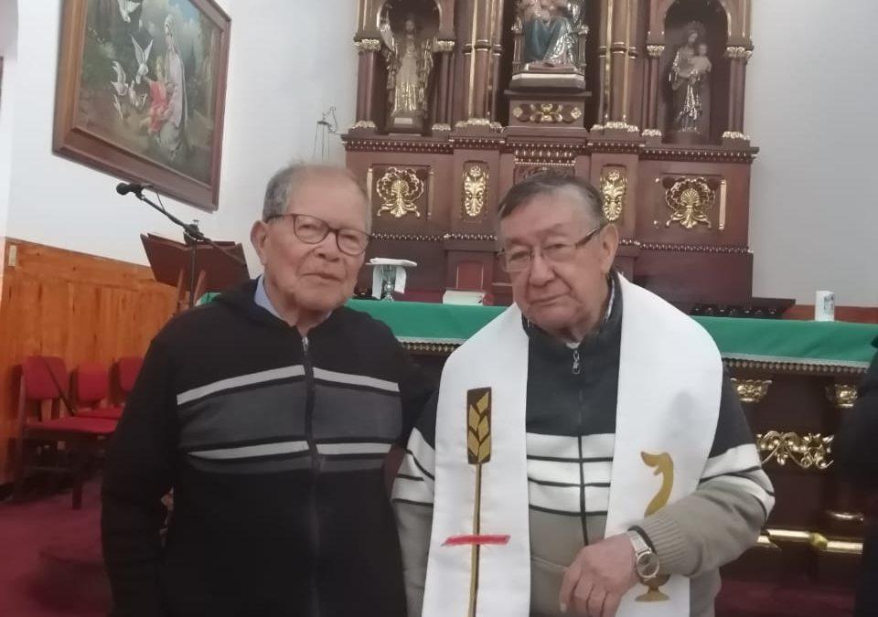 SETENTA AÑOS DE SACERDOCIO P. RAFAEL MARÍA CUELLAR BERNAL, CMF