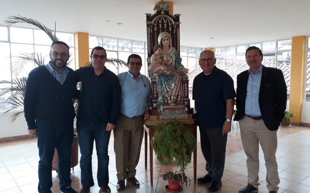 VISITA GENERALICIA CON EL GOBIERNO PROVINCIAL