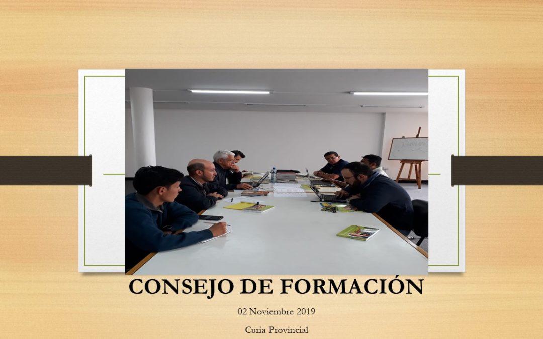 CONSEJO DE FORMACIÓN