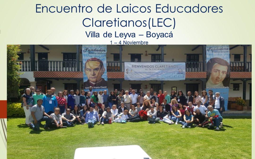 ENCUENTRO DE LAICOS EDUCADORES CLARETIANOS (LEC)