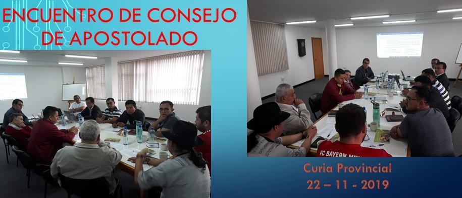 ENCUENTRO DE CONSEJO DE APOSTOLADO