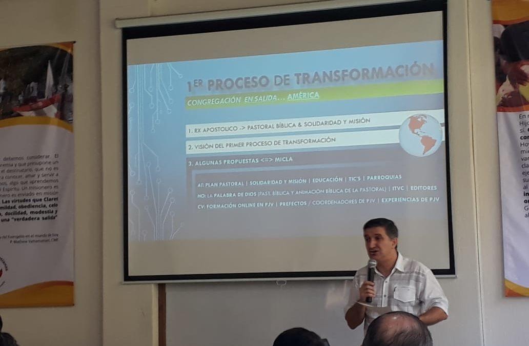PRIMER PROCESO DE TRANSFORMACIÓN
