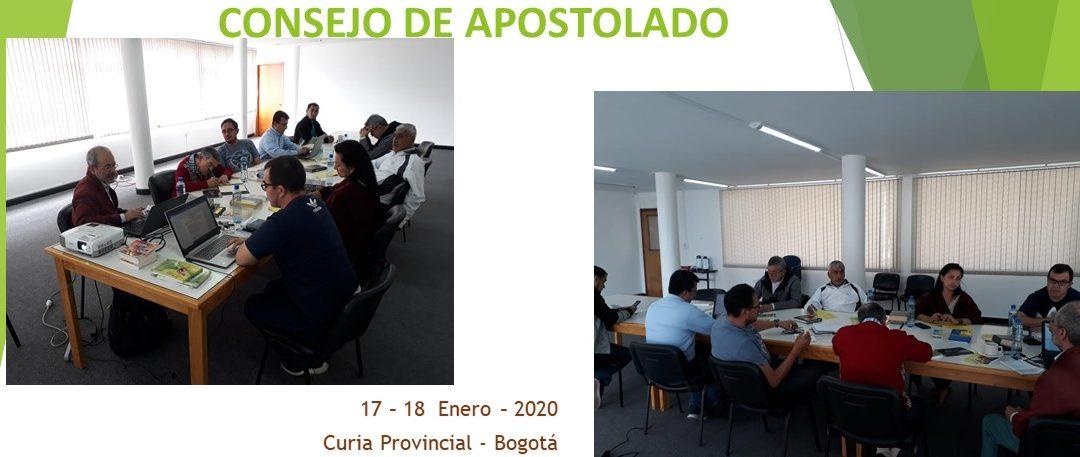 CONSEJO DE APOSTOLADO