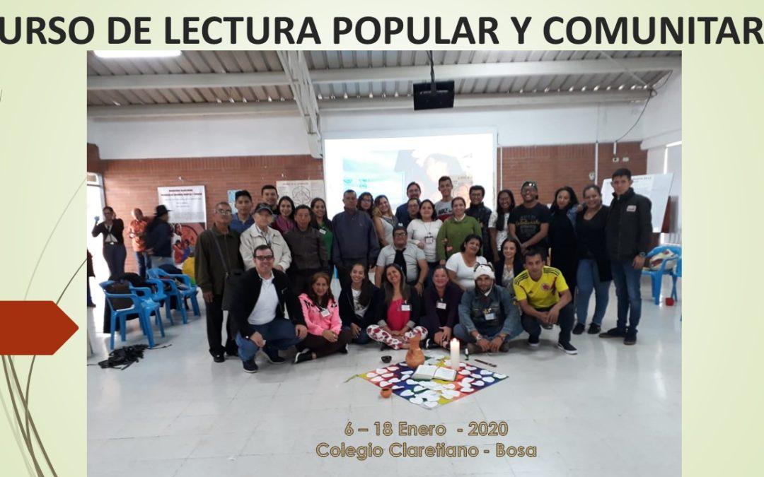 CURSO DE LECTURA POPULAR Y COMUNITARIA