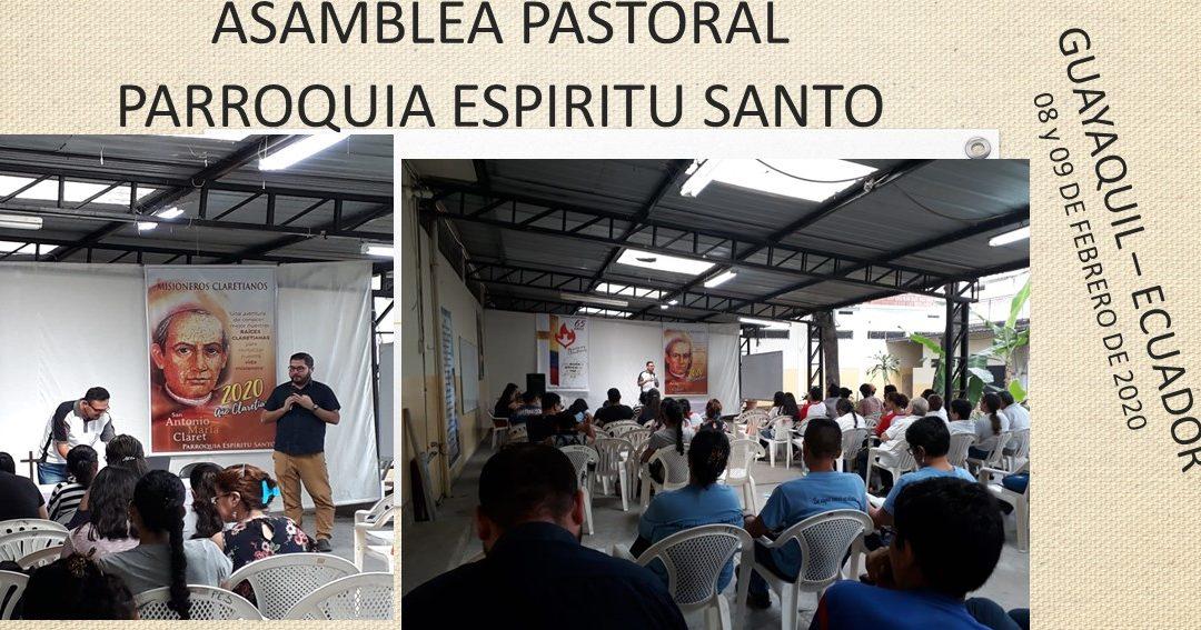 ASAMBLEA PASTORAL PARROQUIA ESPÍRITU SANTO GUAYAQUIL – ECUADOR