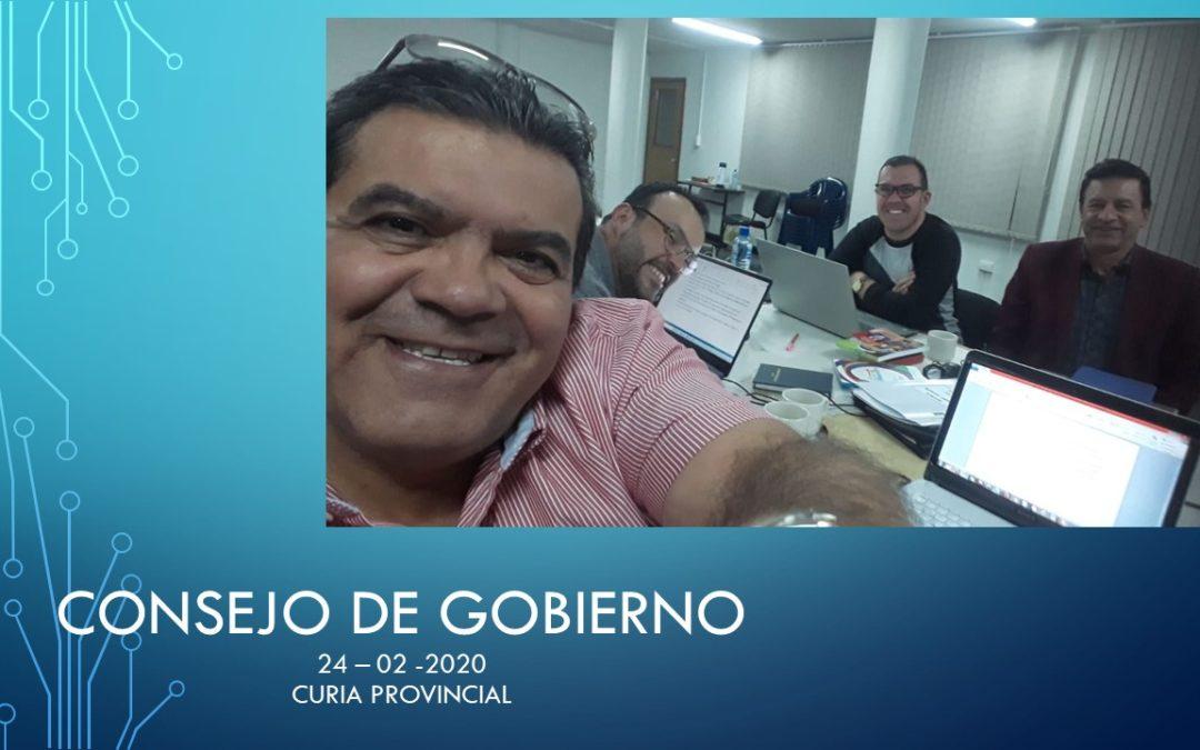 REUNIÓN DEL CONSEJO DE GOBIERNO PROVINCIAL