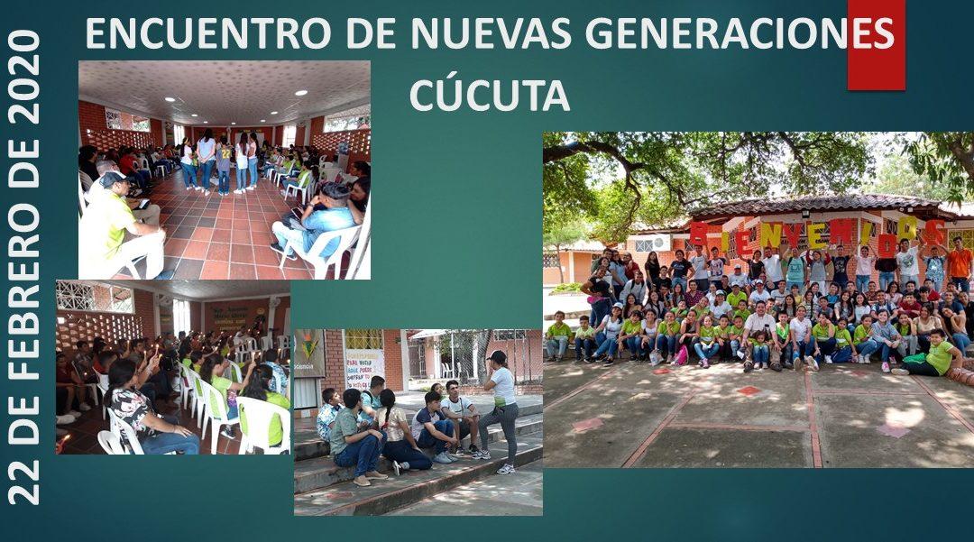 ENCUENTRO DE NUEVAS GENERACIONES CÚCUTA