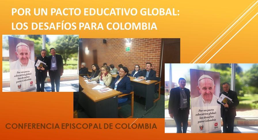 Por un pacto educativo global: Los desafíos para Colombia