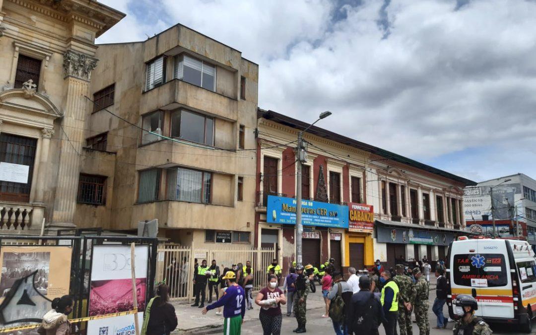 Mercados para las familias empobrecidas del centro de Bogotá