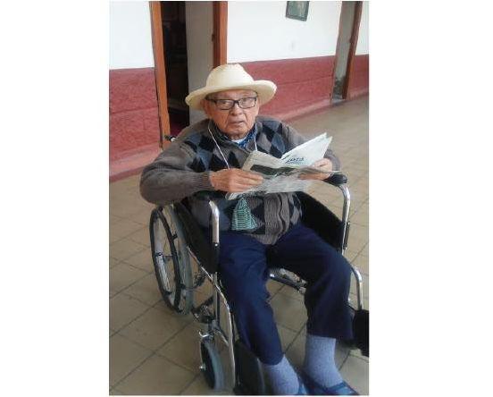 Fallecimiento del P. Gergorio Acosta
