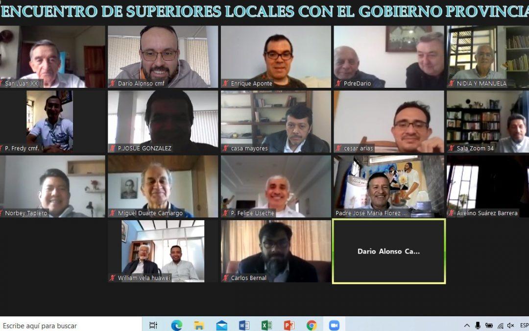 ENCUENTRO DE SUPERIORES LOCALES