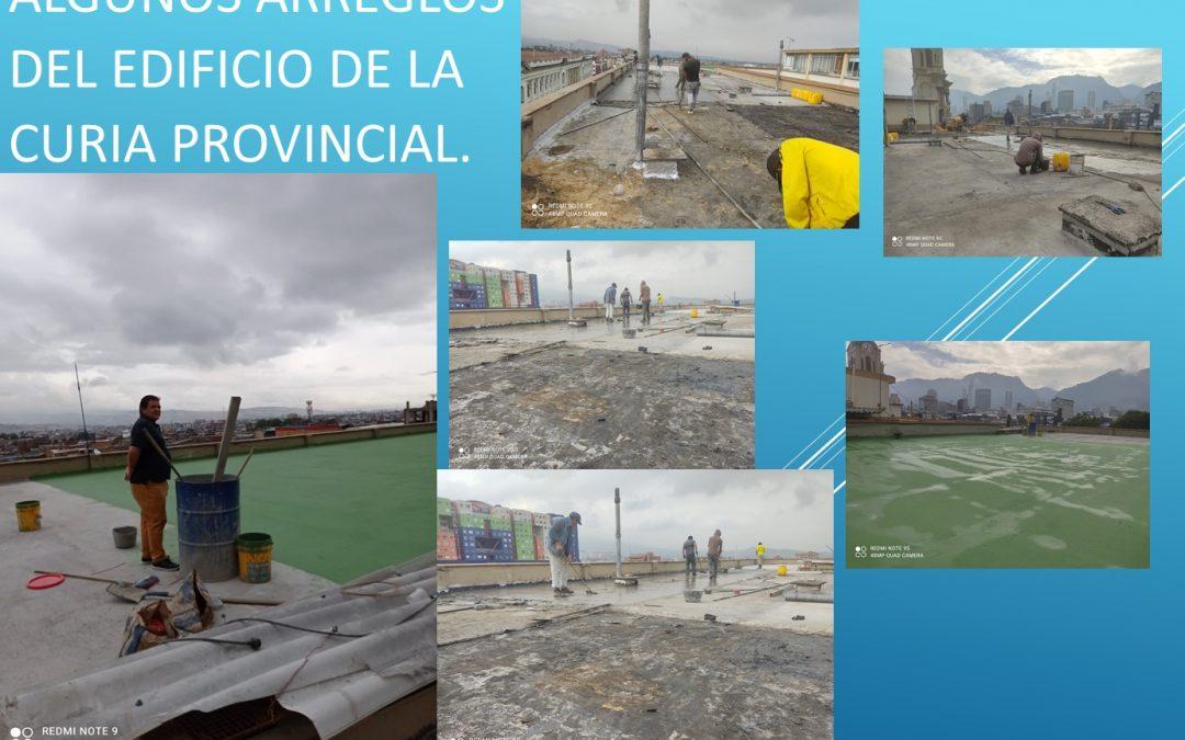 Arreglos del Edificio de la Curia Provincial.