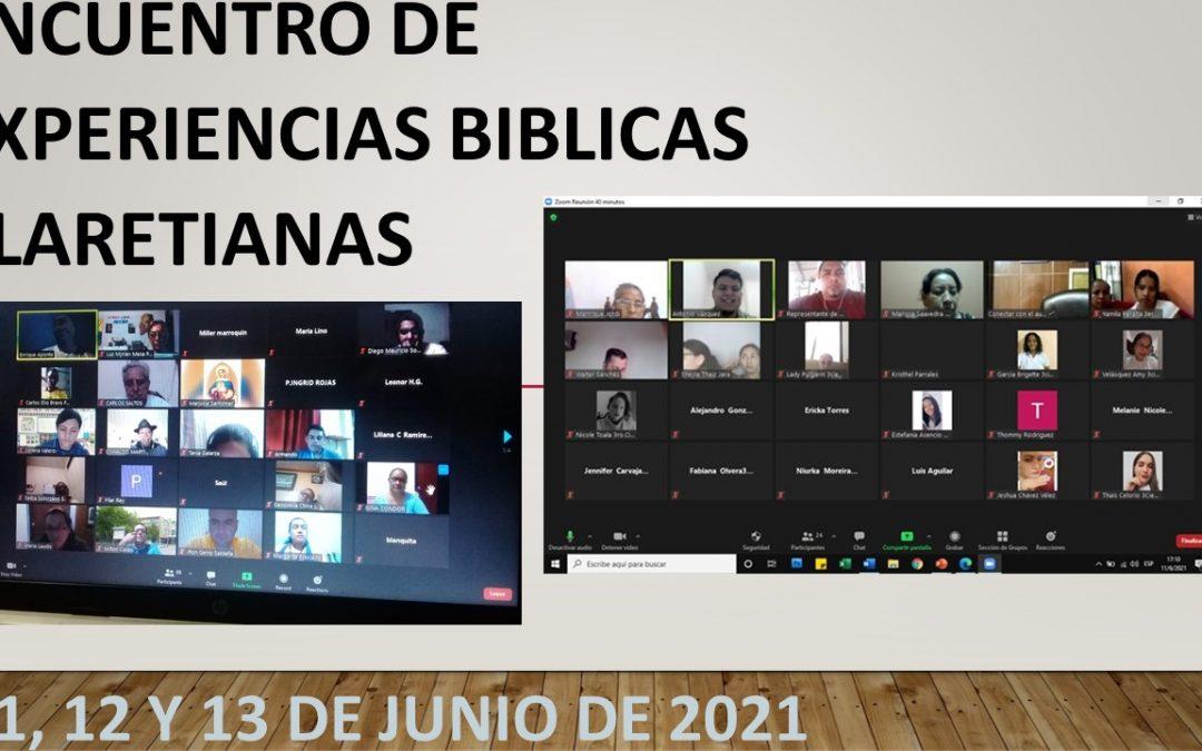 ENCUENTRO DE EXPERIENCIAS BIBLICAS CLARETIANAS
